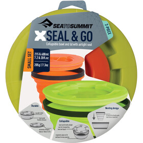 Sea to Summit X-Seal & Go Set Small Lime/Orange